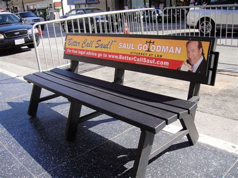 Creative Benches by File Breaking Bad Screening Lab In Hollywood Saul