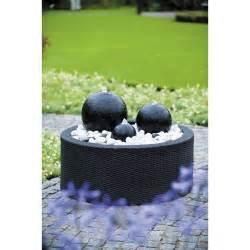 fontaine contour en plastique noir leroy merlin