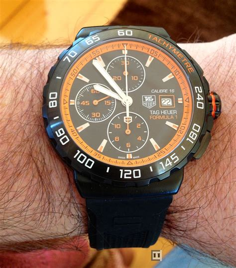 Tagheuer F1 Silver Black Orange on review 2015 formula 1 series the home of tag