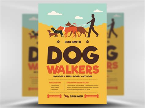 Dog Flyer Template