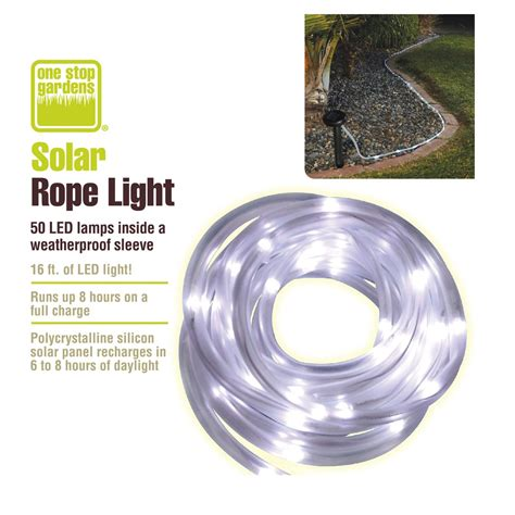 Solar Rope Lighting Outdoor Solar Led Rope Lights Outdoor Roselawnlutheran