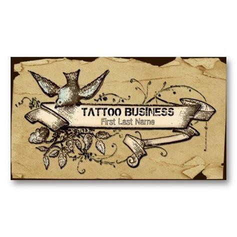 tattoo business card maker 46 best tattoo business cards images on pinterest