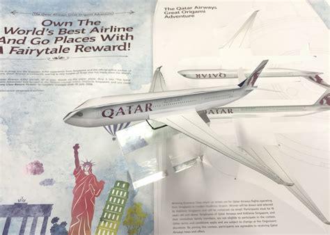 Origami Advertising - qatar airways creates origami print ad mumbrella asia
