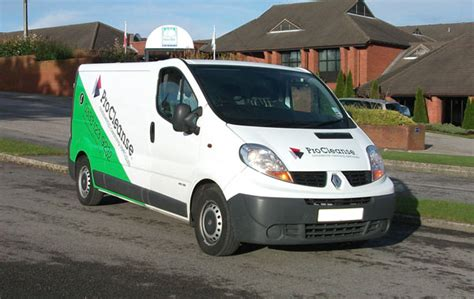 van graphics design ideas vehicle graphics design for wirral cleaning company procleanse