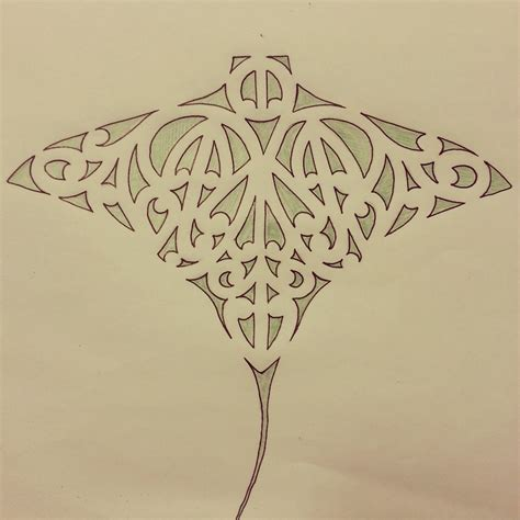 stingray tattoo designs