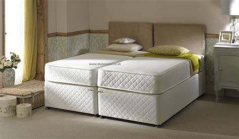 2 beds in 1 milan 1500 pocket sprung memory foam 5ft king size zip