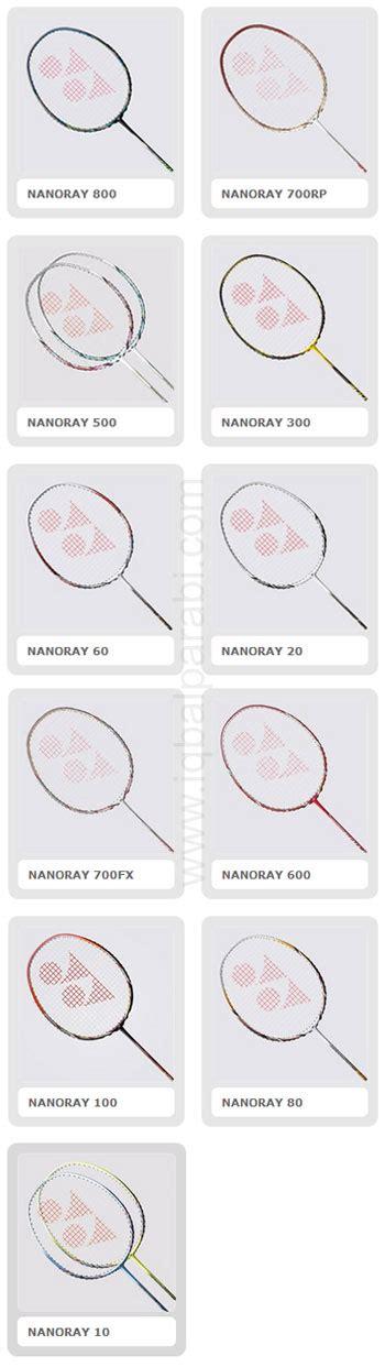 Raket Yonex Nanoray Uplus 9 raket badminton ragam raket badminton yonex iqbal parabi