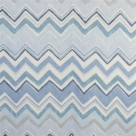 home decor fabric p t prestigious zig zag blue