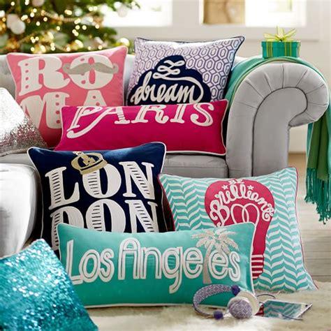 Destination Pillows by Jet Setter Destination Pillow Cover Pbteen