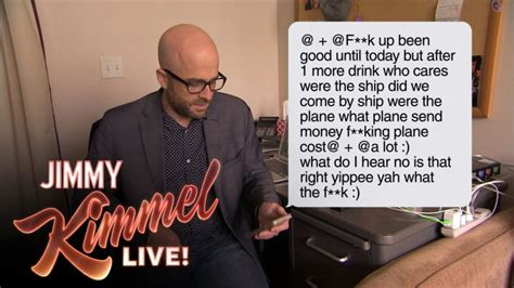 jimmy kimmel fathers day jimmy kimmel s staff read strange texts from their dads