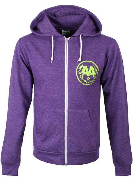 Hoodie Asking Alexandria Family asking alexandria eyeballs s purple zipped hoodie offical band merch buy at