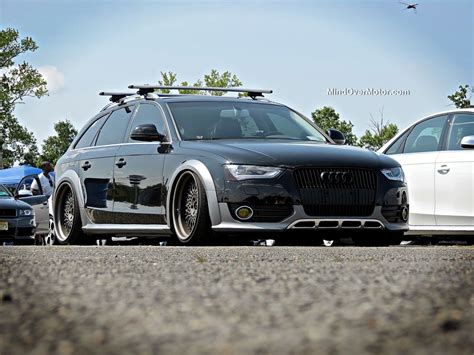 slammed audi slammed audi allroad at waterfest 20 mind motor