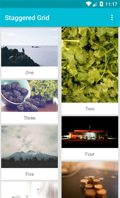 pinterest layout android pinterest masonry layout staggered grid with recyclerview