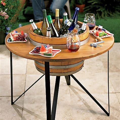 Outdoor Cooler Table by Outdoor Beverage Chiller Table Outdoor
