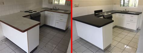 tiled bench tops resurfacing gallery