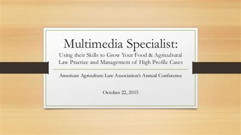 Multimedia Specialist by Multimedia Specialist Using Their Skills To Grow Your Food Agricu