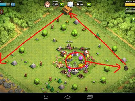 layout of coc th3 the best coc th3 base layout myideasbedroom com