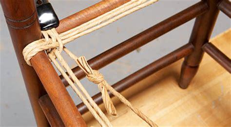 come impagliare sedie impagliare una sedia con il metodo a spicchi