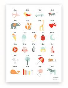 alphabet australia alphabet pink poster printspace 174 shop and