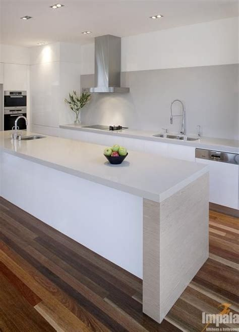ideas for kitchen worktops white gloss kitchen with grey worktops and splashback and