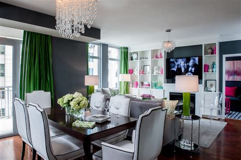glamour home decor hollywood glamour home decor dining room transitional with