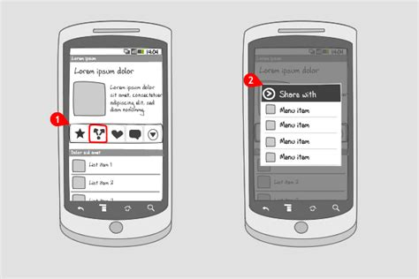 toolbar for android toolbar android interaction design patterns