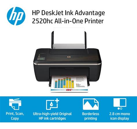 Hp Deskjet Ink Advantage 2520hc All In One Printer Cz338a hp deskjet ink advantage 2520hc all in one printer buy