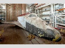 Russia's abandoned space shuttles at the Baikonur ... Ukraine Military Equipment