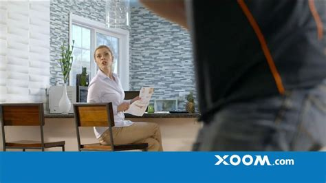 xoom commercial actress xoom tv commercial no fee from receiving bank ispot tv