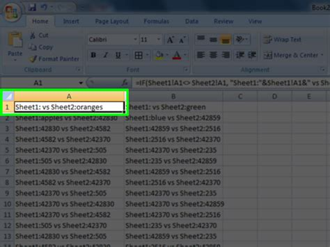 Compare Two Excel Spreadsheets For Differences 2010 by Compare Excel Spreadsheets 2010 Laobingkaisuo