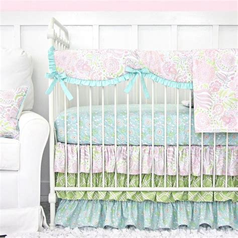 Pastel Crib Bedding Sets Pastel Nursery Designs We Caden