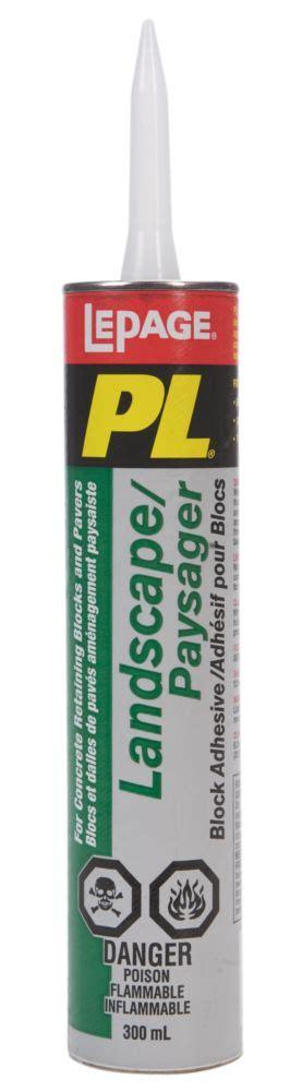 lepage pl landscape block adhesive 300ml the home