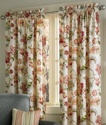Jacobean Floral Curtains 10 Best Images About Cortinas E Persianas 2 On Pinterest Linens Rod Pocket Curtains And