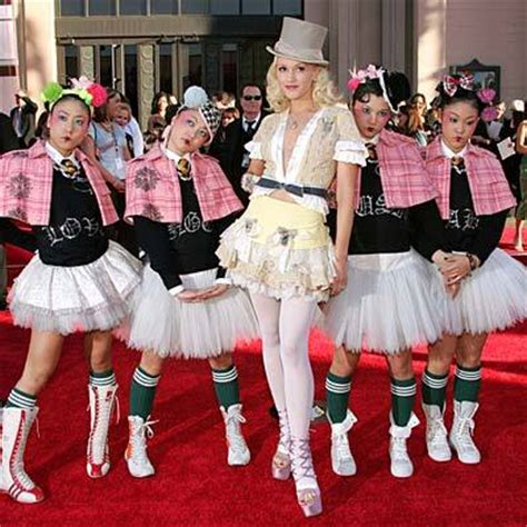 Gwen Stefani Harajuku Girls | gwen stefani s harajuku girls sociological images