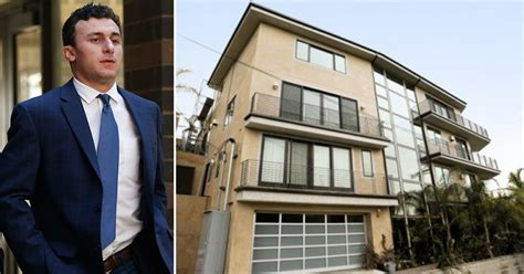 Johnny Manziel Criminal Record Owner Johnny Manziel Threw Raging Trashed Rented Mansion Sfgate