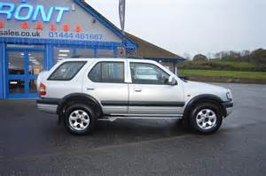 Vauxhall Era Lease Used 2000 Vauxhall Frontera Limited Dti 16v 2 2 Diesel