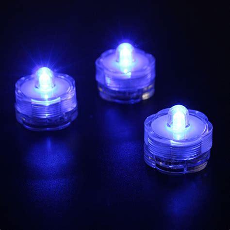 buy led luminous flower shape waterproof submersible