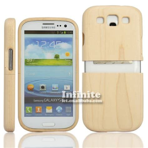 for samsung galaxy s3 wooden case maple wood case with