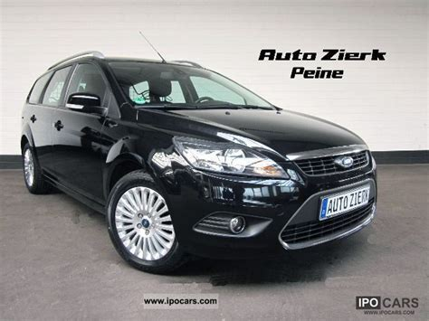 2008 ford focus 1 6 titanium automatic air conditioning car photo and specs