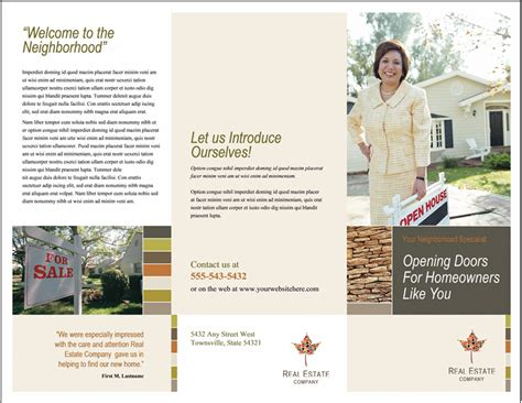 open house brochure template 35 best free brochure templates feedtip