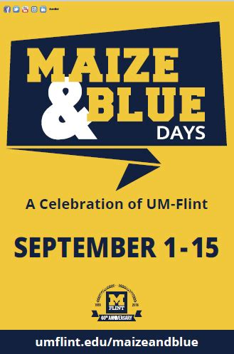Community Invited To Um Flint by Um Flint Expands Community Connections With Maize Blue