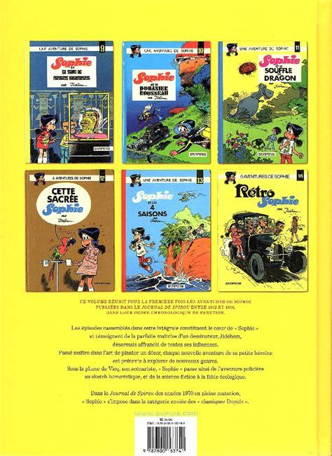 sophie tome 4 2800163747 sophie jid 233 hem bd informations cotes page 3