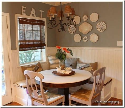 breakfast area with banquet seating quot diy home decor