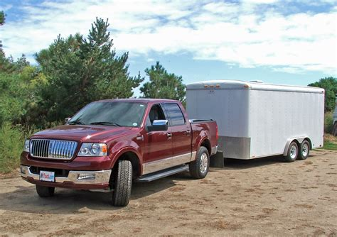 hart ford lincoln lincoln lt truck towing hart trailer