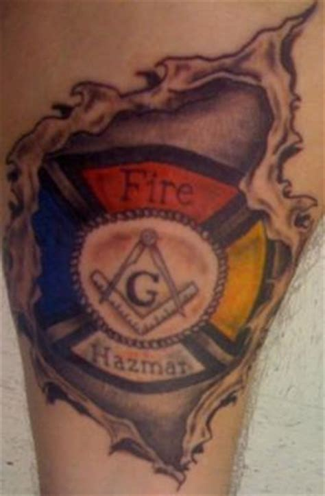 extreme dream tattoo warrensburg mo colored ripped skin firefighter tattoo