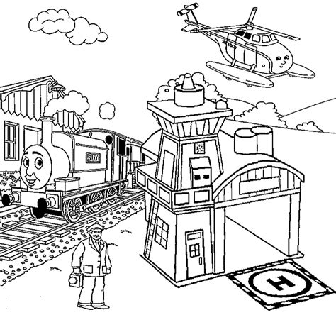 Thomas Tank Engine Coloring Pages Coloring Home Tank Engine Colouring Pages
