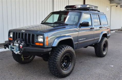 Where Are Jeep Cherokees Built Buy Used 2001 Jeep Sport 4x4 Xj Fully Built 4 5
