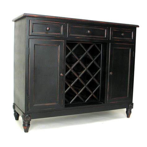 Black Wine Cabinet Buffet by Shop Wayborn Furniture Sideboard Black Pine Sideboard With