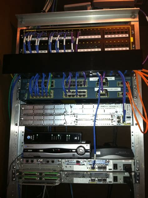 Home Network Rack Setup by 301 Moved Permanently