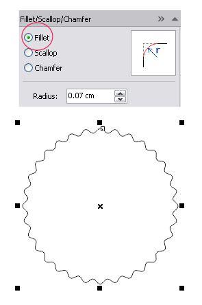 cara bikin pita di corel cara membuat objek lingkaran bergerigi di coreldraw